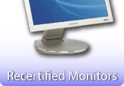 Recertified Monitors